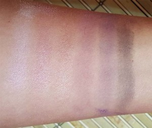 Studio Gear Shimmer Plum Swatches