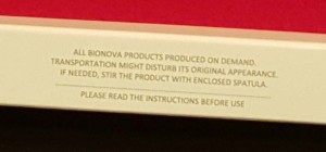 bionova produced to order sm