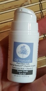 OZ Naturals Super Youth Eye Gel 2