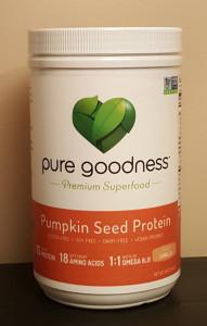 Pure Goodness Pumpkin Seed Protein 2b