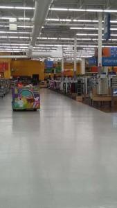 Walmart empty 2