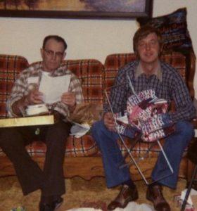 dad and grandpa