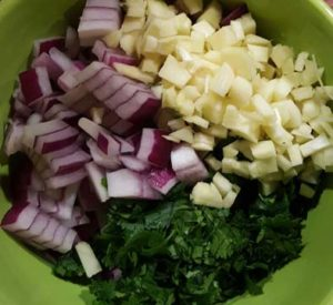 onion-garlic-cilantro