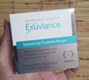 Exuviance eye masque 1
