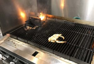 grilling crab