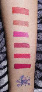 Bobbi Brown Art Stick Liquid Lip lipstick Swatches 1