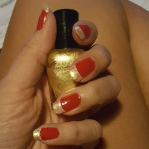 Cyclones manicure 1