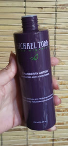 Michael Todd Cranberry Antiox toner 2