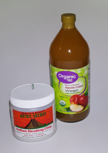 Aztec Secret Indian Healing Clay and Organic Apple Cider Vinegar with Mother