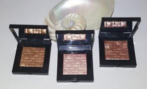 Bobbi Brown Highlighting Powders in Sunkissed Glow, Sunrise Glow, and Tawny Glow