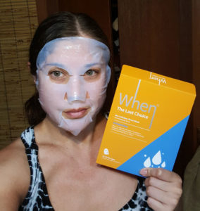 When The Last Choice Hydrating Mask 1