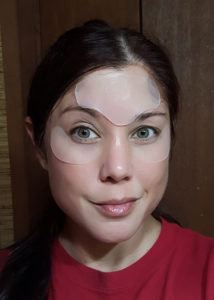 The brow patch was super easy to trim, and worked perfectly!