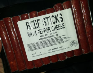 Triple T Beef Sticks with Pepper Cheese 1