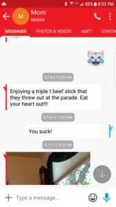 Triple T text screenshot