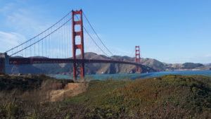 One of Jerry's shots of the Golden Gate Bridge