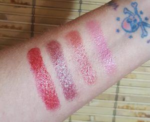 Buxom Metalix swatches
