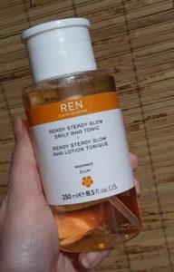 Ren Ready Steady Glow AHA Tonic 1