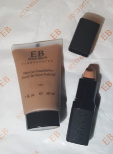 FlowerColor Natural Liquid Foundation & FlowerColor Cover Up