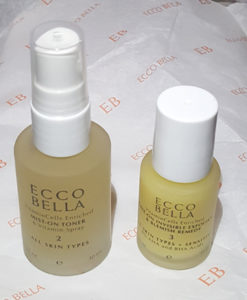 Ecco Bella Mist On Toner Vitamin Spray & Natural Leave On Invisible Exfoliant and Blemish Remedy
